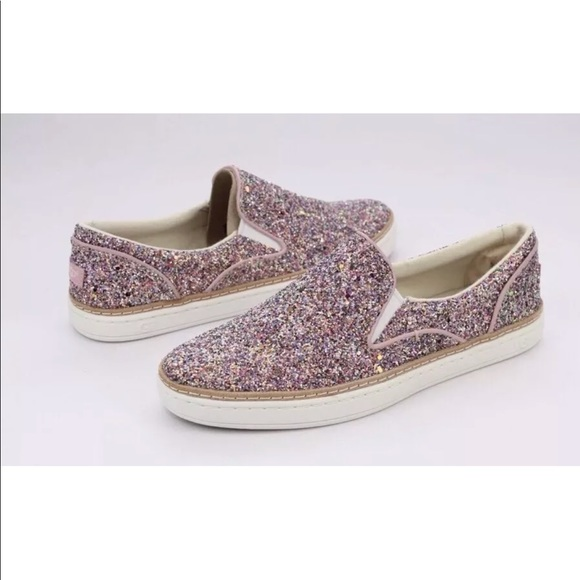 ae0461f9767 UGG ADLEY CHUNKY GLITTER COLOR SLIP-ON SNEAKERS